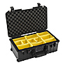 1535AirWD Wheeled Carry-On Case (Black, with Dividers)