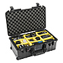 1535AirWD Wheeled Carry-On Case (Black, with Dividers) Thumbnail 5