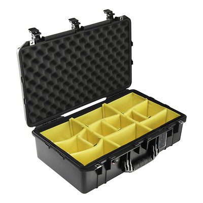 1555AirWD Carry-On Case (Black, with Dividers) Image 0