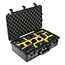 1555AirWD Carry-On Case (Black, with Dividers) Thumbnail 1