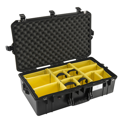 1605AirWD Carry-On Case (Black, with Dividers) Image 0