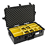 1605AirWD Carry-On Case (Black, with Dividers) Thumbnail 0