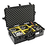 1605AirWD Carry-On Case (Black, with Dividers) Thumbnail 1