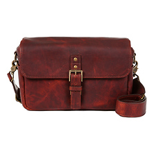 The Bowery Leather Camera Bag (Bordeaux) Image 0