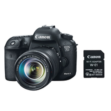 EOS 7D Mark II Digital SLR Camera with 18-135mm Lens & W-E1 Wi-Fi Adapter Image 0