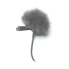 Fuzzy Topper Windscreen for Lavalier Microphones (Grey) Image 0