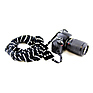 Scarf Camera Strap (Black & Ivory-Striped) Thumbnail 1