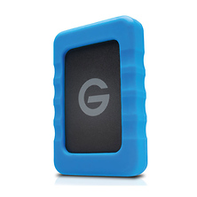 2TB G-DRIVE ev RaW USB 3.0 Hard Drive with Rugged Bumper Image 0