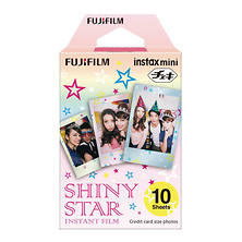 instax mini Shiny Star Instant Film (10 Exposures) Image 0