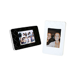 Instax Mini Film Picture Frames (Black/White 2-Pack)