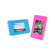 Framatic Frameless Glass Clip Picture Frame For A 11x14 Photograph