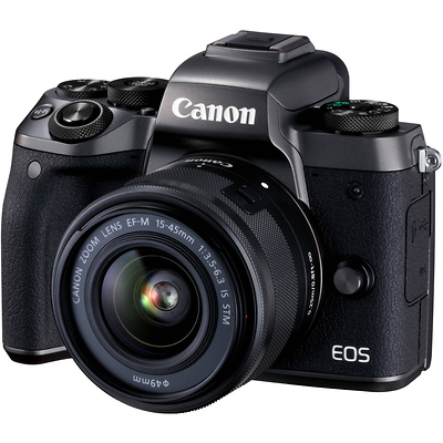 EOS M5 Mirrorless Digital Camera with 15-45mm Lens Image 0
