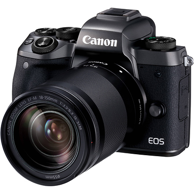EOS M5 Mirrorless Digital Camera with 18-150mm Lens Image 0