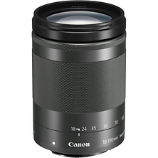 EF-M 18-150mm f/3.5-6.3 IS STM Lens (Graphite) Image 0