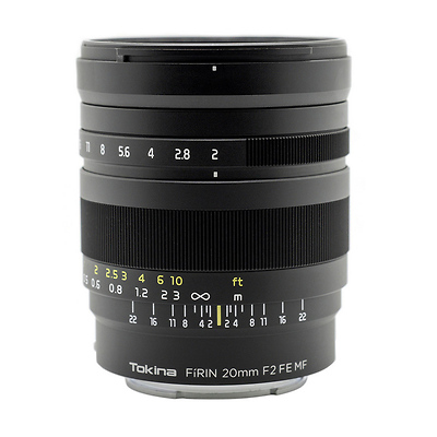 FiRIN 20mm f/2.0 FE MF Lens for Sony E Image 0