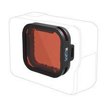 Red Snorkel Filter for HERO5 Black Image 0