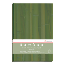 Bamboo Sketch Book (Green Cover, A5, 64 Sheets) Image 0