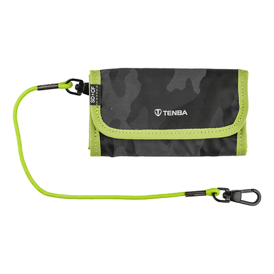 Tools Reload SD 6 + CF 6 Card Wallet (Black Camouflage/Lime) Image 0
