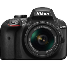 D3400 Digital SLR Camera with 18-55mm Lens (Black) Image 0