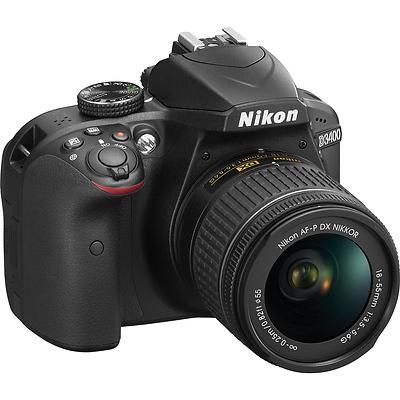 Nikon D3400 Digital SLR Camera with 18-55mm Lens (Black)