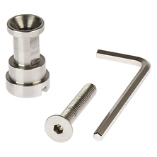 5/8 In. Stainless Steel Light Spigot Adapter Image 0