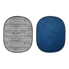 Collapsible Backdrop (Gray Pine/Blue) kit Image 0