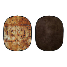 Industrial Collapsible Backdrop (Grunge/Brown) kit Image 0