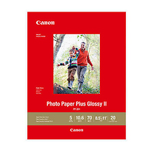 Photo Paper Plus Glossy II - PP-301 - LTR (20 Sheets) Image 0