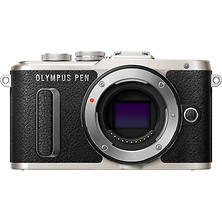 PEN E-PL8 Mirrorless Micro Four Thirds Digital Camera Body (Black) Image 0