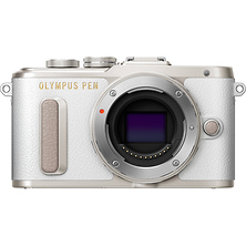 PEN E-PL8 Mirrorless Micro Four Thirds Digital Camera Body (White) Image 0