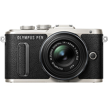 PEN E-PL8 Mirrorless Micro Four Thirds Digital Camera with 14-42mm Lens (Black) Image 0