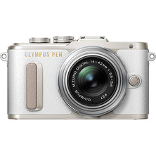 PEN E-PL8 Mirrorless Micro Four Thirds Digital Camera with 14-42mm Lens (White) Image 0