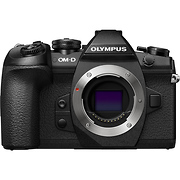 OM-D E-M1 Mark II Mirrorless Micro Four Thirds Digital Camera Body (Black)
