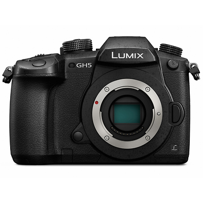 LUMIX DC-GH5 Mirrorless Micro Four Thirds Digital Camera Body (Black) Image 0