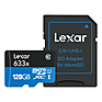 128GB High-Performance UHS-I microSDXC Memory Card with SD Adapter Thumbnail 0