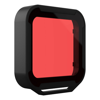 Red Aqua Filter for GoPro HERO5 Black Super Suit Housing Image 0