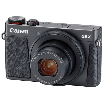 PowerShot G9 X Mark II Digital Camera (Black) Image 0