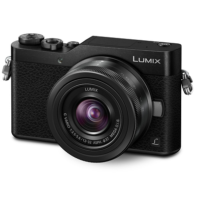 Lumix DC-GX850 Mirrorless Micro Four Thirds Digital Camera with 12-32mm Lens (Black) Image 0