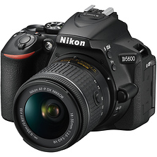 D5600 Digital SLR Camera with 18-55mm Lens (Black) Image 0
