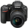 D5600 Digital SLR Camera with 18-55mm & 70-300mm Lenses (Black) Thumbnail 8