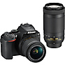 D5600 Digital SLR Camera with 18-55mm & 70-300mm Lenses (Black)