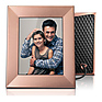 Iris 8 In. Digital Photo Frame (Peach Copper)