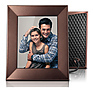 Iris 8 In. Digital Photo Frame (Burnished Bronze)