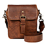 Bond Street Leather Camera Bag (Antique Cognac)