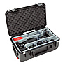 iSeries 2011-7 Case with Photo Dividers & Lid Foam (Black)