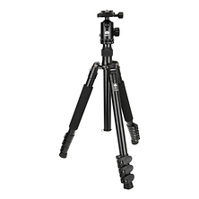 ET-2004 Aluminum Tripod with E-20 Ball Head Image 0