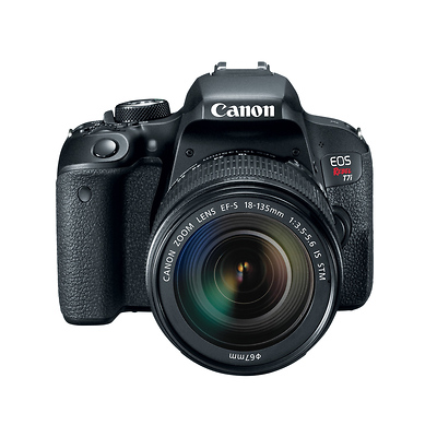 Canon Eos Rebel T7i Digital Slr Camera With 18 135mm Lens