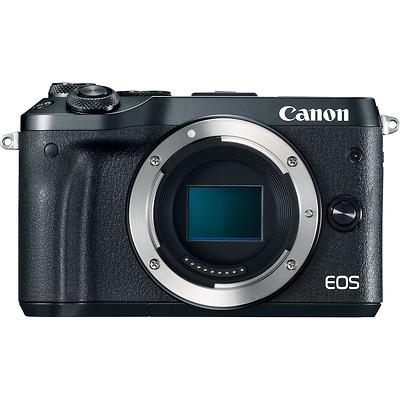EOS M6 Mirrorless Digital Camera Body (Black) Image 0