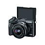 EOS M6 Mirrorless Digital Camera with 15-45mm Lens (Black) Thumbnail 3