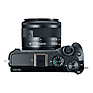 EOS M6 Mirrorless Digital Camera with 15-45mm Lens (Black) Thumbnail 4